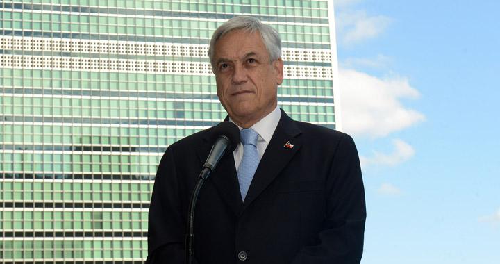 Sebastián Piñera denuncia que Maduro lleva a Venezuela a una dictadura como la de Cuba