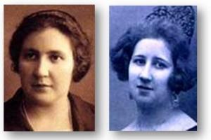 BEATAS. Las hermanas Dolores y Consuelo Aguiar-Mella Díaz
