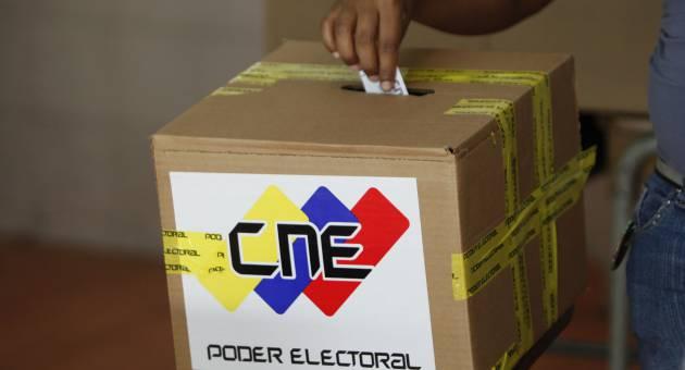 Elecciones municipales en Venezuela (Foto: CNE)