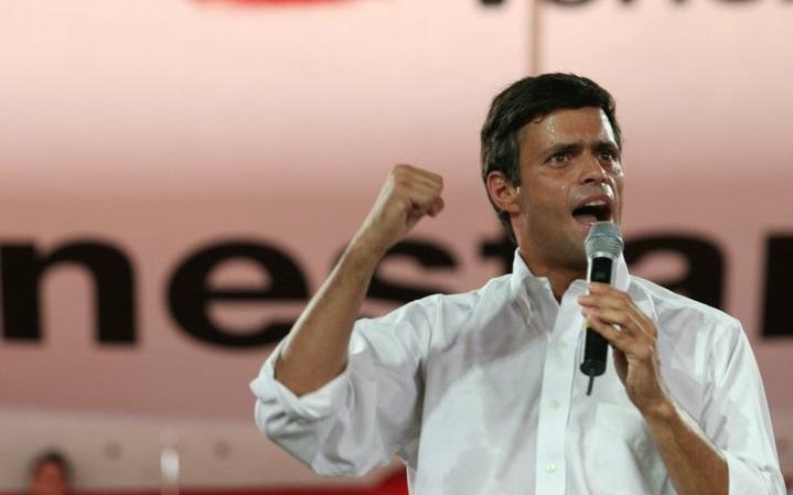 El coordinador nacional de Voluntad Popular, Leopoldo López (Foto: VP)