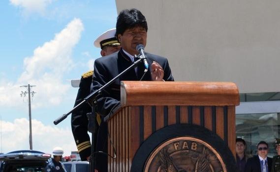 Evo Morales aguinaldo