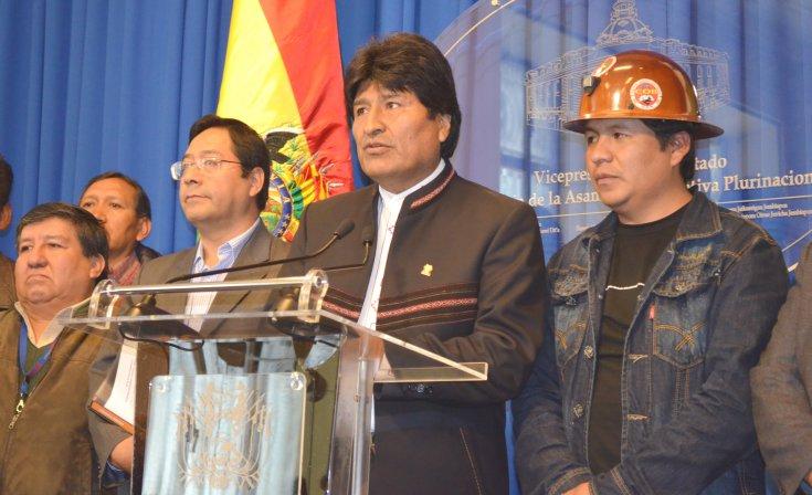 Evo Morales admite reducción en el crecimiento del PIB de 34.000 millones de dólares