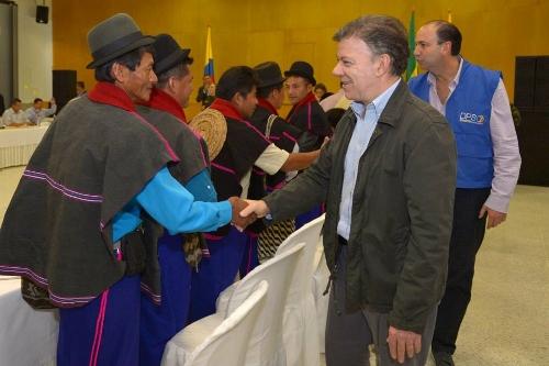 Colombia respalda fortalecimiento de la cultura y tradiciones de pueblos originarios