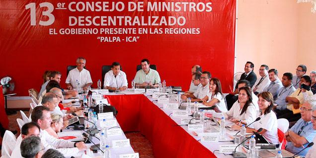 Ministro destaca trabajo del Gobierno en la promoción de la inversión privada