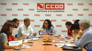Para Comisiones Obreras (CCOO) los servicios sociales pierden 57.000 empleos en tres años
