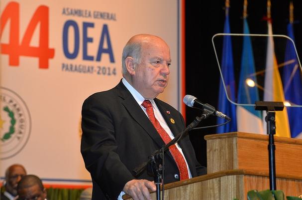 Insulza destaca papel de la OEA en la región