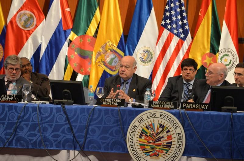 Canciller de Ecuador critica posición de Insulza sobre cambios en la CIDH