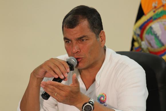 Correa critica a Insulza y asegura que reformas a la CIDH la deciden los Estados