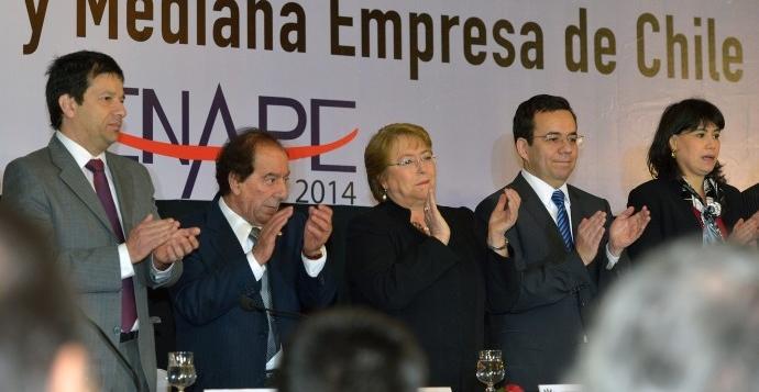 """Bachelet: """"necesitamos fortalecer la alianza público-privada para aumentar la inversión"""""""