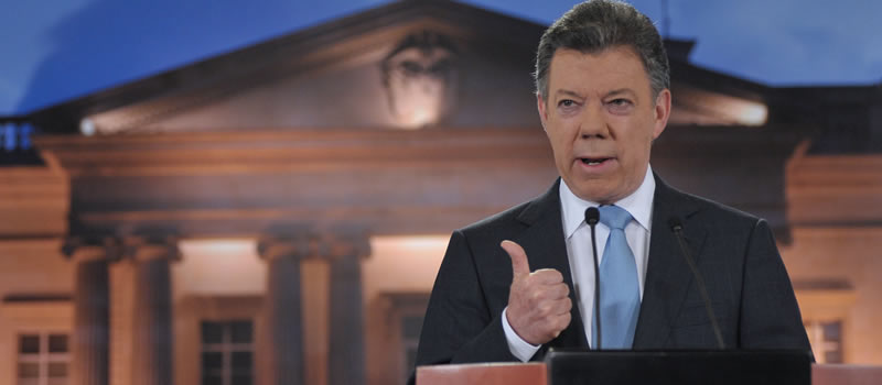 Juan Manuel Santos Farc