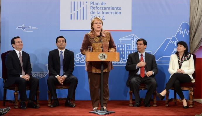 Chile inyectará 500 millones de dólares adicionales para recuperar crecimiento económico