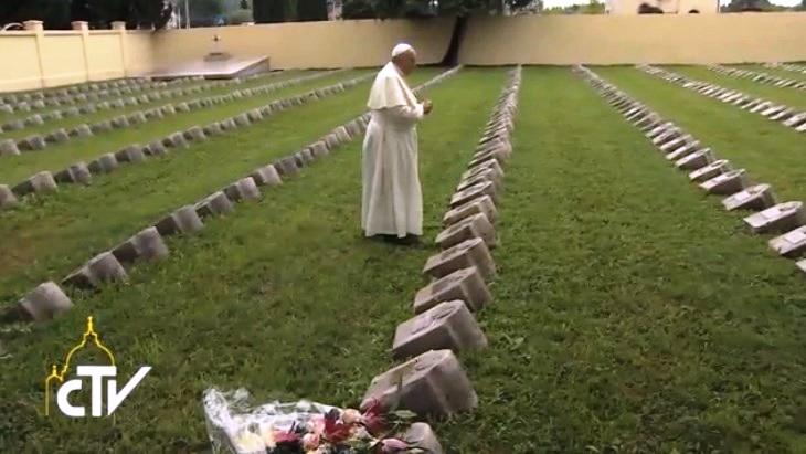 """El Papa y las guerras: """"La humanidad tiene necesidad de llorar, y esta es la hora del llanto"""""""
