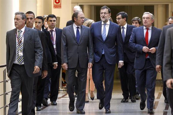 Rajoy afirma que los gobernantes tienen la obligación de cumplir la Ley, no hacer cosas que la Ley no les permite