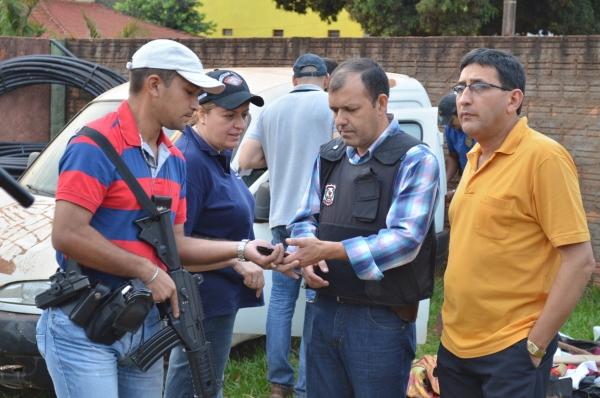 Paraguay: por el asesinato del periodista Pablo Medina, allanan propiedades del intendente de Ypejhu