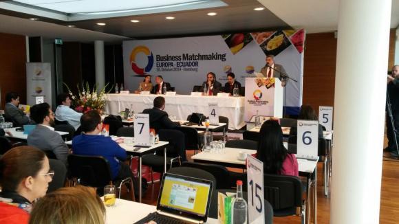 Ecuador con expectativas de negocios por USD 18,5 millones con Europa