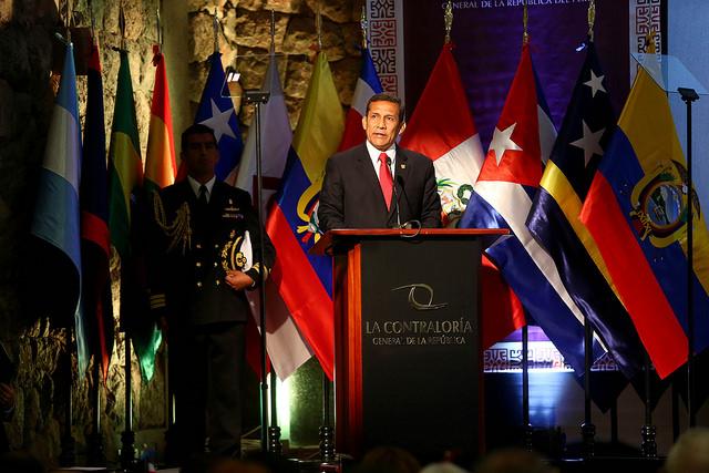 Ollanta Humala destaca medidas para frenar la corrupción en el país