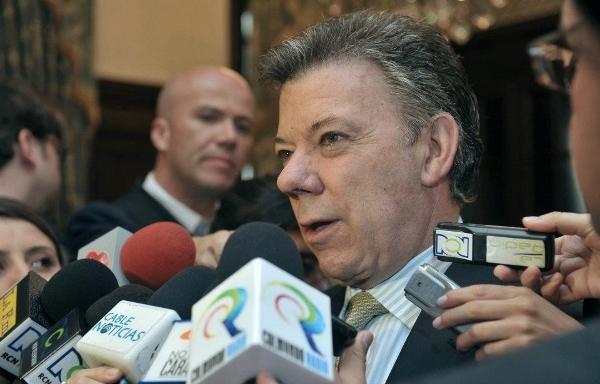 Santos destaca creación de casi tres millones de empleos en el país