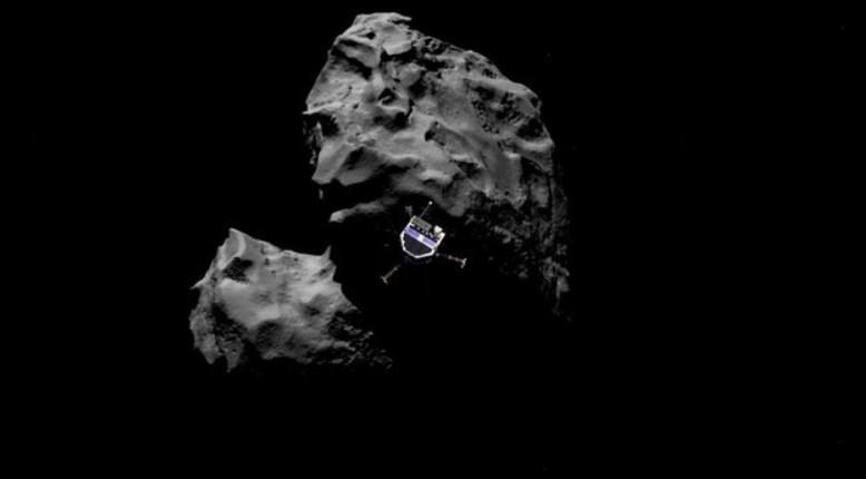 Éxito: la sonda  Philae de la Agencia Europea del Espacio logra posarse sobre un cometa