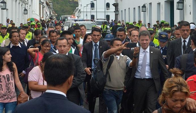 Colombia: Santos anuncia que ya está en marcha el procedimiento de liberación de los secuestrados