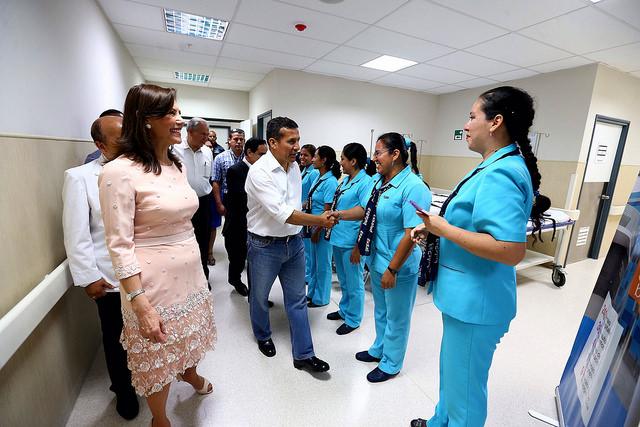 Ollanta Humala destaca inversión y modernización del sector Salud