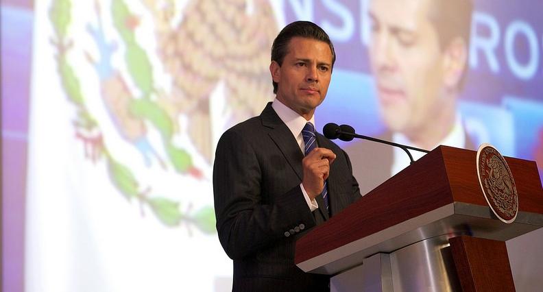 Peña  Nieto aboga por la unidad de México