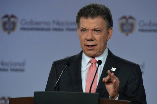 Santos espera que entrada en vigor de cese al fuego por parte de las FARC sea definitivo