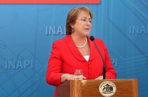 """Bachelet: """"las relaciones vecinales ocupan un lugar central en las relaciones exteriores de Chile"""""""