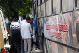 Traslado de los detenidos (Foto: MP)