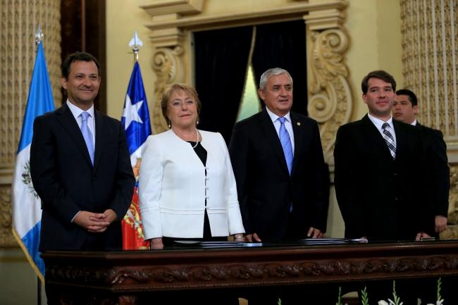Guatemala y Chile suscriben acuerdo de cooperación y fortalecen lazos de amistad