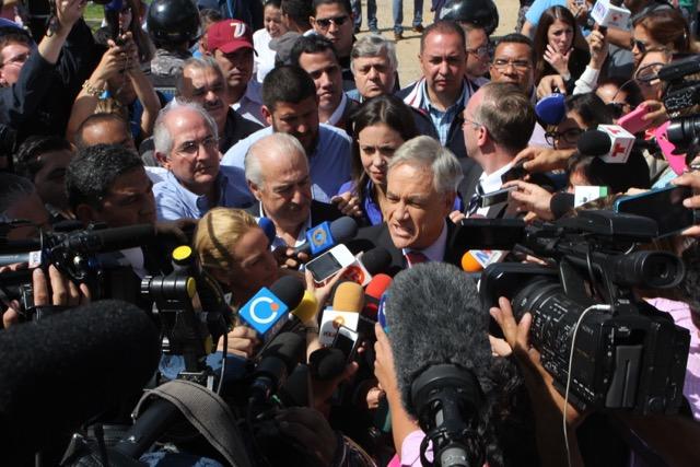 Régimen chavista impide que Piñera y Pastrana  visiten a Leopoldo López en la cárcel