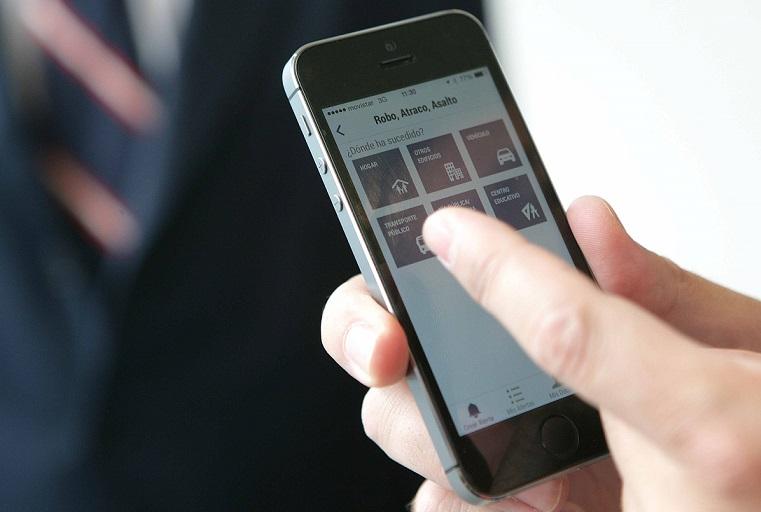 """Ya se instala en España """"Alertcops"""" la aplicación móvil de alertas de seguridad ciudadana"""