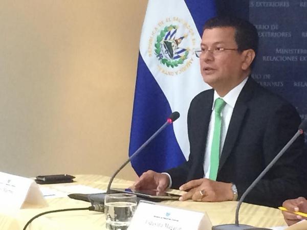 El Salvador valora compromiso de EE.UU con desarrollo del Triángulo del Norte