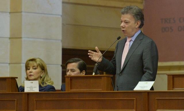 Colombia debatirá desarrollo del país en el Congreso