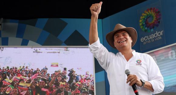 Rafael Correa ministerio