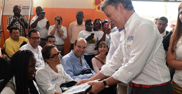 Santos: mi obligación es hacer que respeten a los colombianos en cualquier parte del mundo