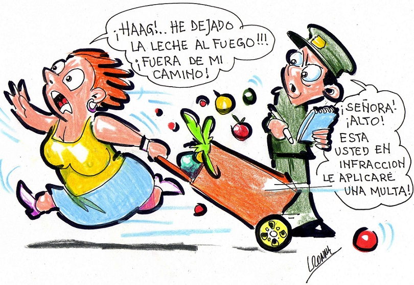 Aclaran que España no multará a peatones por caminar rápido