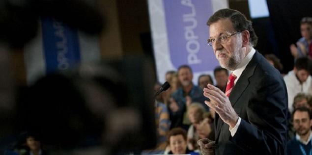 """Rajoy: """"¿Qué sistema quieren cambiar, el que les garantizó sanidad pública?"""""""