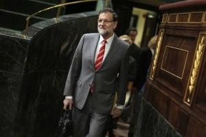 """Rajoy dice que el gobierno adoptó medidas para reducir """"la brecha salarial entre hombres y mujeres"""""""