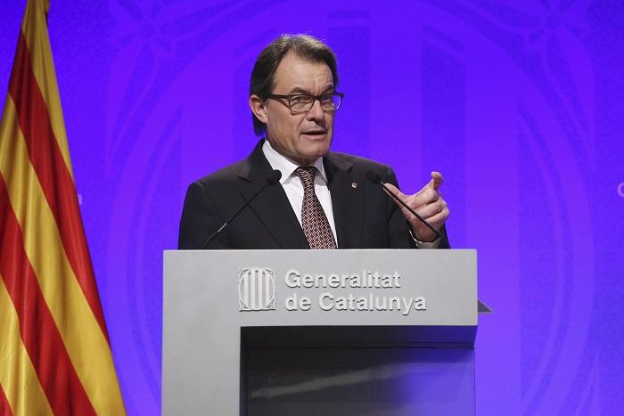 Artur Mas quiere avanzar rápido en estos meses 'por si Cataluña se convierte en un Estado'
