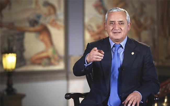 """Pérez Molina: """"millones de guatemaltecos se han beneficiado en estos tres años de gobierno"""""""