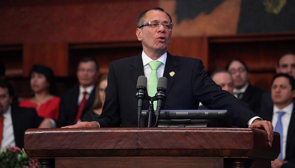 Legislatura admite a trámite inicio de juicio político contra Vicepresidente de Ecuador