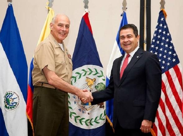 """EE.UU: Honduras es un """"ejemplo, hace un año era el más peligroso del planeta y ya no es así"""""""