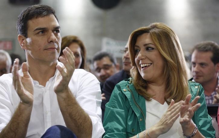 """Pedro Sánchez cree que será una """"victoria aplastante"""" la del PSOE en Andalucía"""