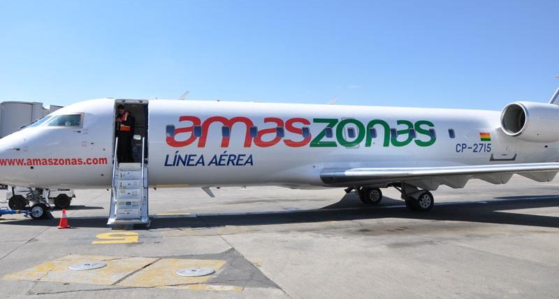 Amaszonas gestiona compra de la empresa Buquebus Líneas Aéreas del Uruguay