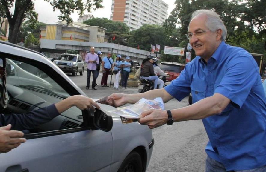 Caracas:  Fiscalía solicita medida cautelar de arresto domiciliario para Antonio Ledezma