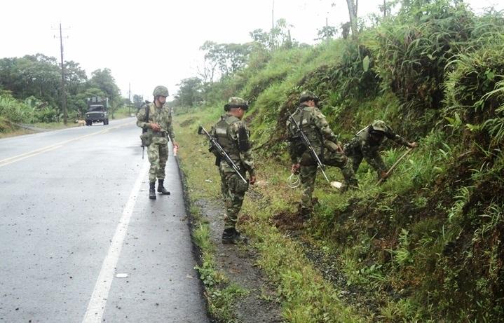 En respuesta al ataque de las FARC, dos guerrilleros fueron abatidos por las Fuerzas Armadas