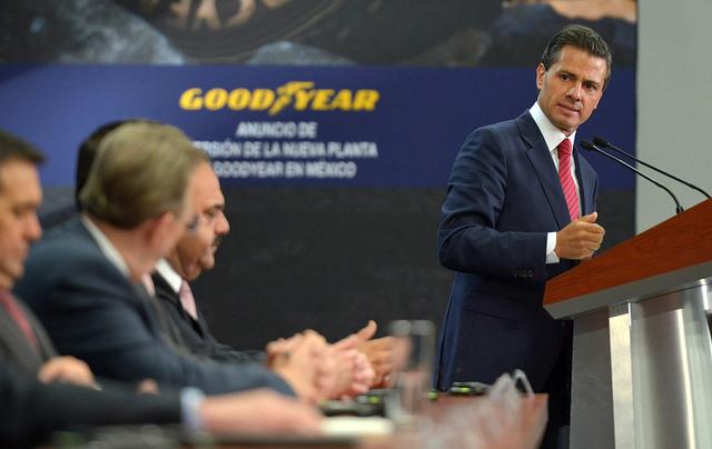 Peña Nieto destaca confianza de empresas globales en México