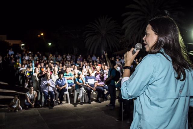 María Corina Machado denuncia persecución de la Inteligencia Militar