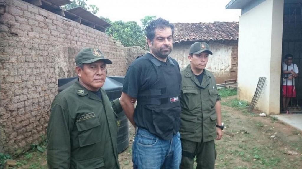 Bolivia: capturan al empresario peruano que se fugó para evitar la extradición a su país
