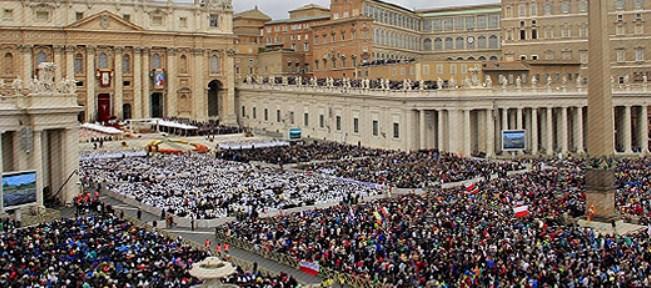El Papa canoniza a cuatro nuevas santas; dos de ellas palestinas